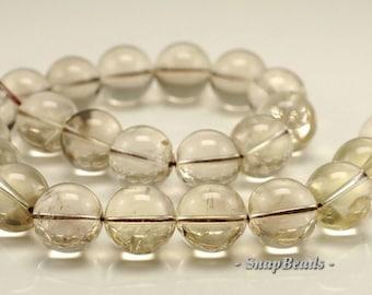 17mm Smoky Quartz Gemstone Round Loose Beads 7.5 inch Half Strand(90191495-B1-502)