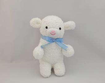 Lamb Plush Toy, Sheep Stuffed Animal, Sheep Stuffed Doll, Lamb Sock Toy, Sock Monkey