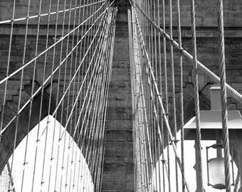 Brooklyn Bridge 1875 - Original Signed Fine Art Photograph