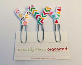 Happy Planning Clips, Planner Clips, Organizer Clips
