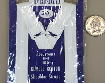 Vintage Bur-Mil Adjustable cotton shoulder straps