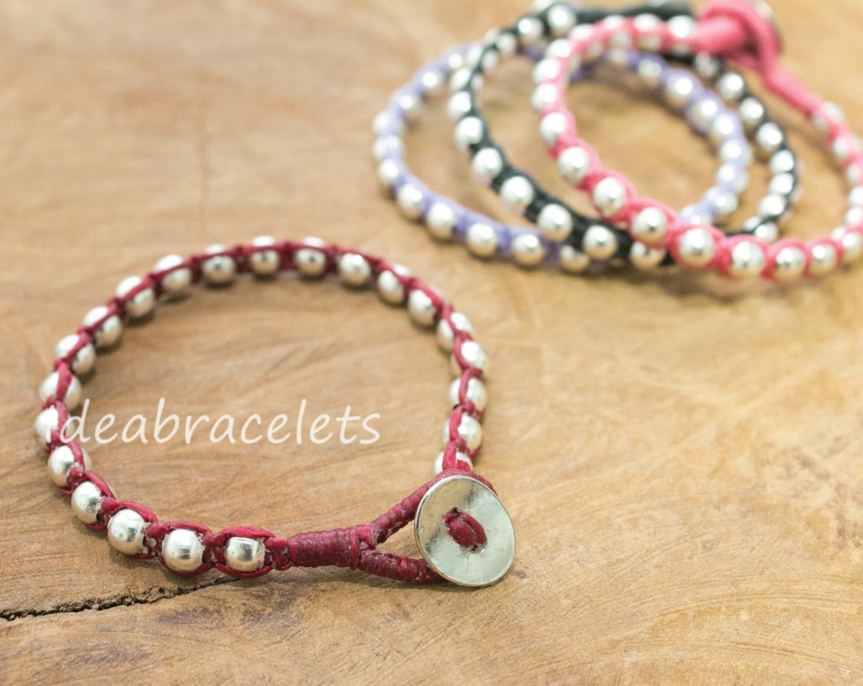 Handmade Birthday Gift Teenage Bracelets New Design