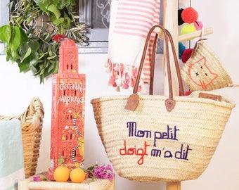 "Basket Original Marrakech ""little birdie told me"""