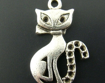 1 charm pendant metal 16 x 25 mm