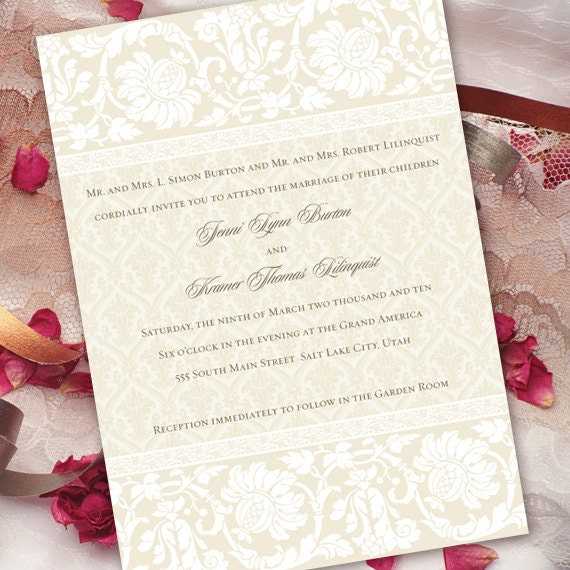 wedding invitations, wedding invitations and rsvp, formal wedding invitations, white bridal shower invitations, white wedding announcement