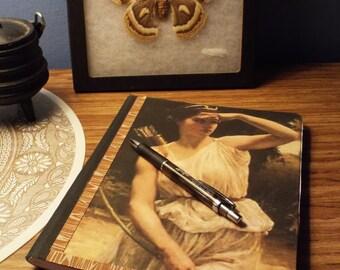 Goddess Diana journal or Book of Shadows