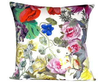 Orangerie Rose designer pillow covers - Made to Order - Designers Guild