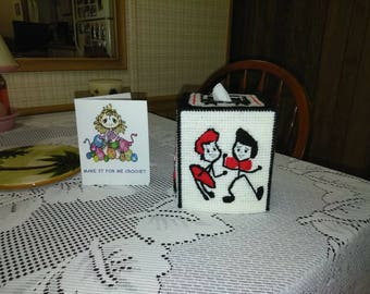I Love Lucy Tissue Topper