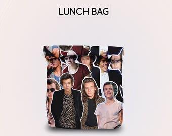 Harry Styles lunch bag for women lunch bag for men lunch bag for kids