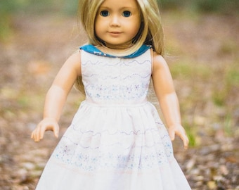 Dolly Molly PDF Sewing Pattern for Sizes 14″ & 18″ (Wellie Wisher, American Girl equivalent)