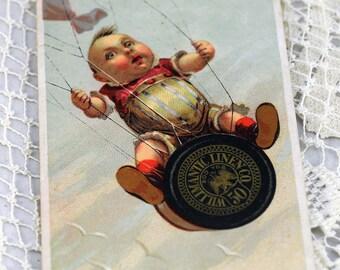 1800s Rare Thread Trade Card #29-PB