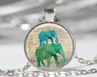 Elephant Neckace Elephant Jewelry
