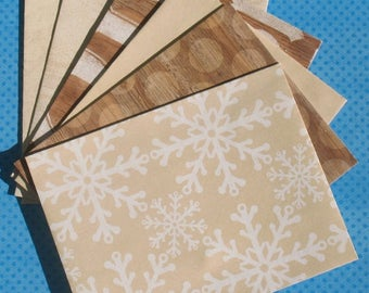 Rustic Noel - A2 Holiday Envelopes