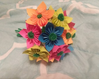 Origami Flowers - Bold