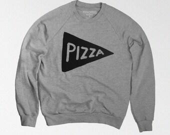 Pizza Sweatshirt - Crewneck Sweatshirt - Fathers Day Gift -  husband gift, teen gift, pizza lover, boyfriend, mens gift, dad gift, unisex