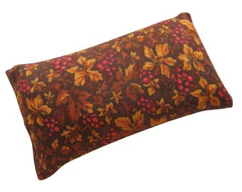 Autumn Leaves Pincushion filled with Emery Sand