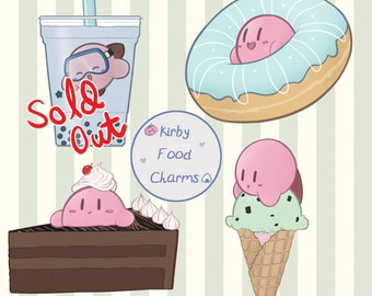 Reversible Food Kirby Charms