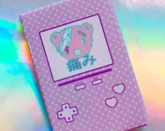 Hurt Bear Game Button,  Yami Kawaii Button