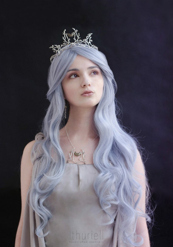 Items Similar To Silver Branch Tiara Moonlit Forest