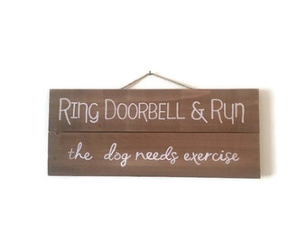 Ring Doorbell & Run!
