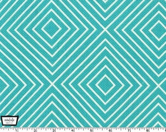 Michael Miller Textured Basics by Patty Young Diamonds in Teal
