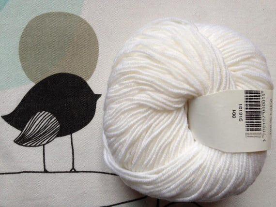 White - FONTY GUERET wool