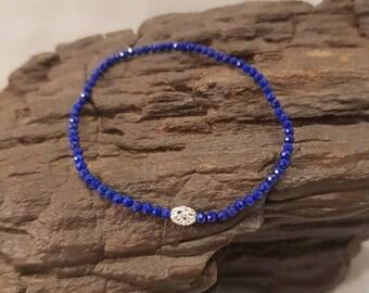 Petite Lapis Lazuli Bracelet (reserved)