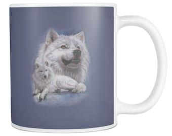 Wolf Mug, Wolf Coffee Mug, Wolf Tea Mug, Wolf Cup, Wolf Gift Idea, Wolf Mug for her, Wolf Mug for Him