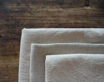 hemp TOWEL _ hand or bath, handmade from light or heavy hemp