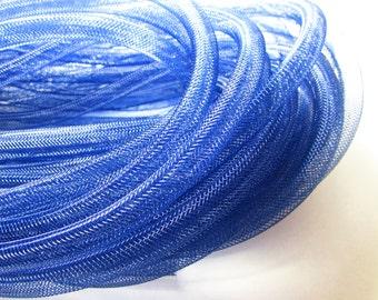 D-03057 - 1m Mesh tubing dark blue 8mm