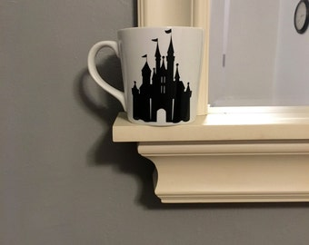Disney World Inspired Mug - Cinderella's Castle