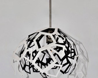 Modern Lamp, unusual design, ceiling light BIG BANG