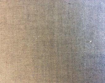 Black and white oxford cotton