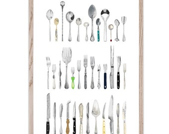 The Cutlery Draw Limited Edition Fine Art Giclée Print