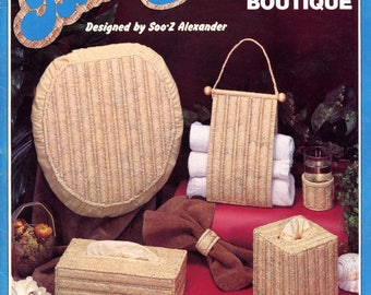 Needlepoint Basketry - Bath Boutique by Soo-Z Alexander | Craft Book