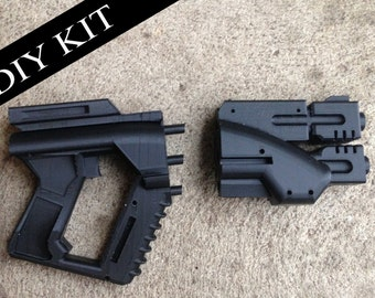 Custom Rifle Blaster Kit Do It Yourself DIY Mandalorian Star Wars Cosplay Prop Replica