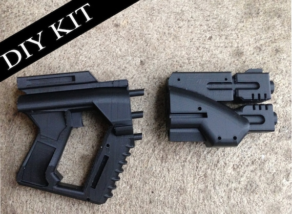 Custom rifle blaster kit do it yourself diy mandalorian star like this item solutioingenieria Image collections