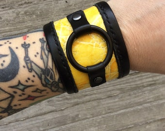 hella yella kuff cuff bracelet jewelry adjustable