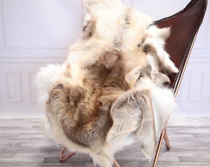Reindeer Hide | Reindeer Rug | Reindeer Skin | Throw XL  EXTRA Large - Scandinavian Style #20RE10