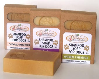 Dog Shampoo Soap, natural dog soap, natural dog shampoo
