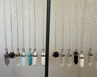 Gemstone Pendant Necklaces