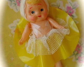 Antique Celluloid Original Doll