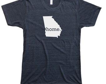 Homeland Tees Men's Georgia Home T-Shirt