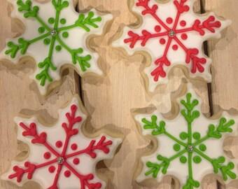 Snowflake Sugar Cookies