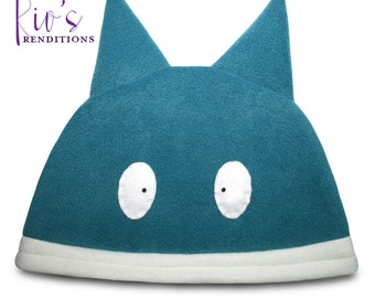Pokemon Munchlax Hat / Fleece Hat / Winter Hat / Pokemon Hat / Pokemon Fleece Hat / Video Game Characters