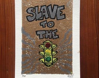 Slave To The Traffic Light V2 Images