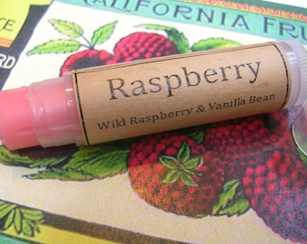 Raspberry  Natural Lip Balm