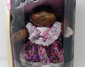 Vintage Limited Edition 10th Anniversary Edition Cabbage Patch Kids - Individually Numbered - Zora Mae - New In Box and Never Opened