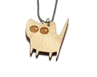 laser cut jewelry - Lasercats - Crumble