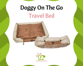 Doggy on the Go travel outside water resistant Dog Bed